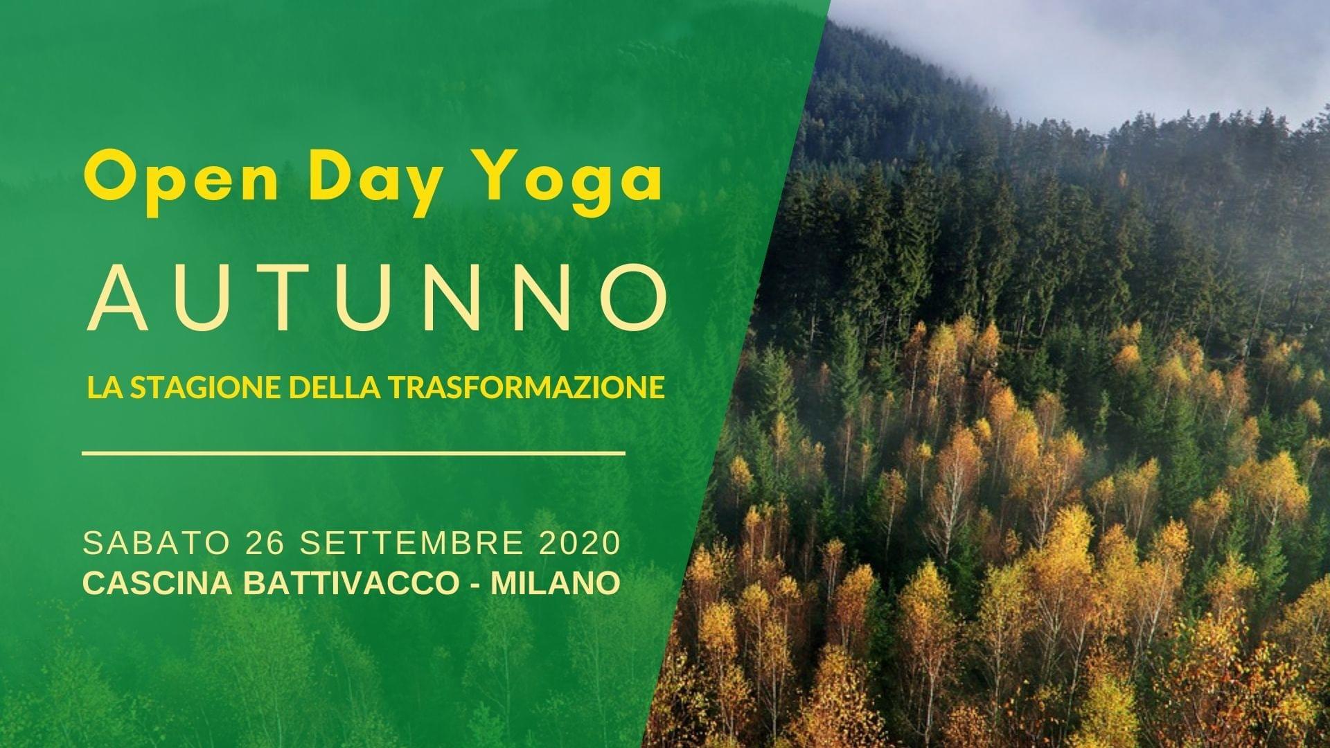 Il Tuo Yoga In Fattoria – Open Day Di Autunno