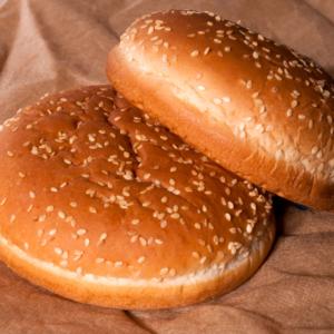 Panini Burger Con Semi Di  Sesamo (4 Pezzi)